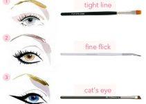 How to Choose Eyeliner Brush – Types of Eyeliner Brushes