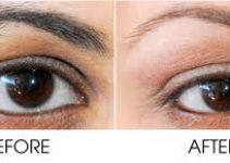 Eyebrow Waxing – Before and after photo