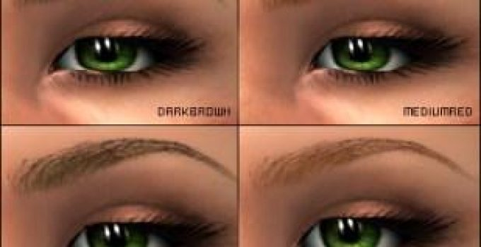 How to Color Eyebrows - Looks