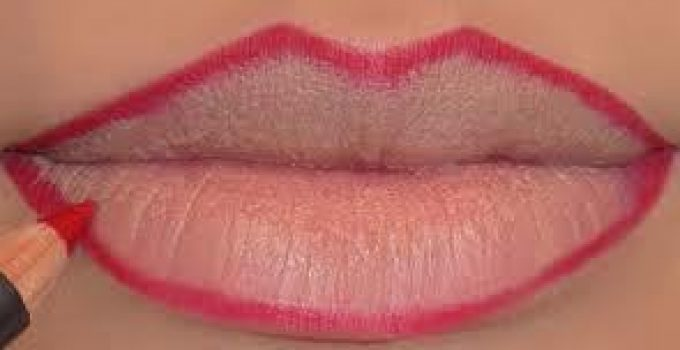 how to get permanent pink lips at home