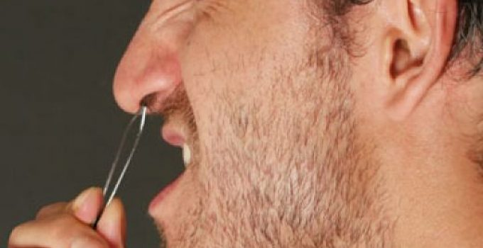 Nose Hair Scissors, Plucking Nose Hair & Pulling - Nose Hair Pulling or Tweezing
