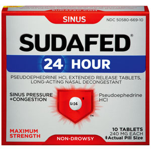Best Medicine for Stuffy Nose – How to Treat, What to Take - Sudafed OTC
