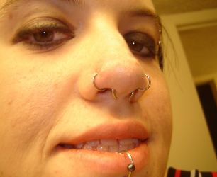 Double Nose Piercing On Same Side Nostril Pictures What Is