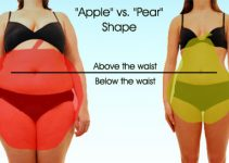 Apple Body Shape Vs Pear Body Shape