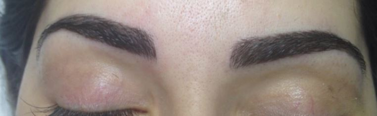 Feather Touch Brow tattoo